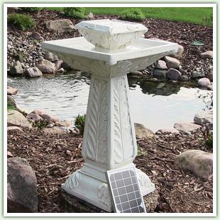 Solar On Demand Fountains