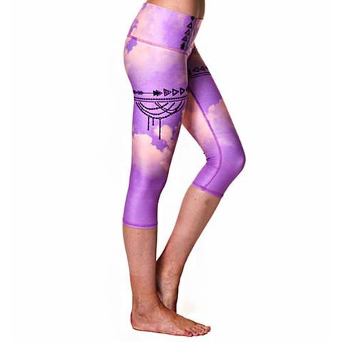 Teeki Goddess Capri Purple Haze