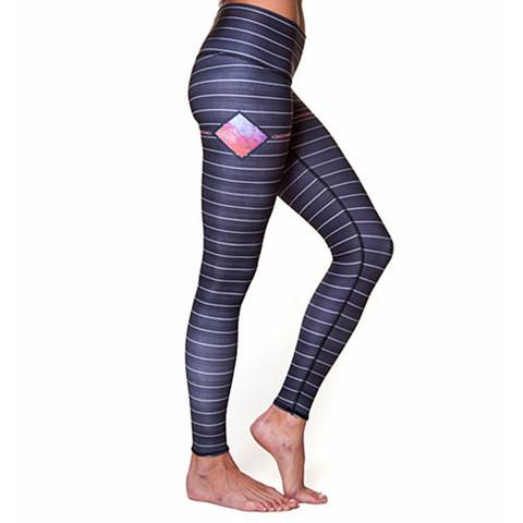 Teeki Yoga Hot Pants Reflection Charcoal