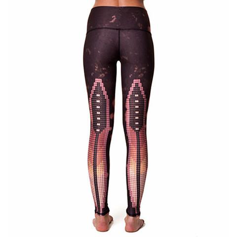 Teeki Yoga Hot Pants Sacred Feather
