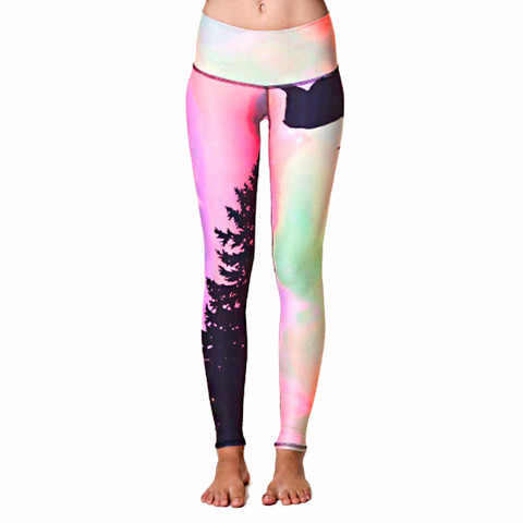 Teeki Yoga Hot Pants Northern Lights