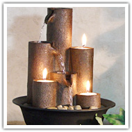 Check out Tabletop Fountains here