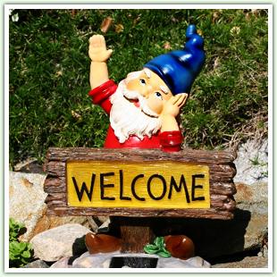 Garden Gnomes & Statuary