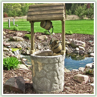 Resin & Fiberglass Outdoor Fountains