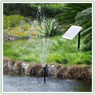 Solar Pond Fountains