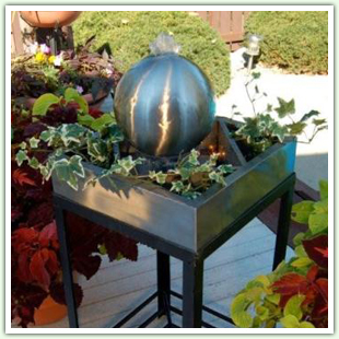 Stainless Steel Tabletop Fountains