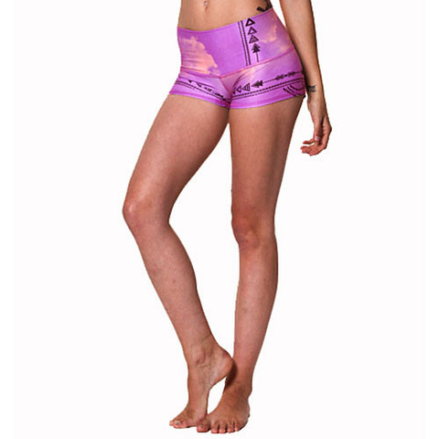 Teeki Sun Shorts Purple Haze