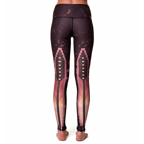 Teeki Yoga Hot Pants Sacred Feather